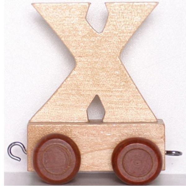 Lettre d corative en bois train lettre x la f e du jouet - Lettre decorative en bois ...