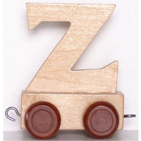 Lettre d corative en bois train lettre z la f e du jouet - Lettre decorative en bois ...