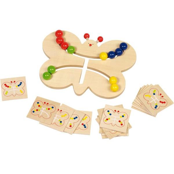 jeu ducatif goki papillon assortir les couleurs la f e du jouet. Black Bedroom Furniture Sets. Home Design Ideas