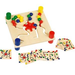 jeu ducatif goki assortir les couleurs la f e du jouet. Black Bedroom Furniture Sets. Home Design Ideas