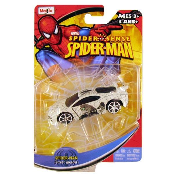 Voiture spiderman street speeder maisto la f e du jouet - Voiture spiderman ...