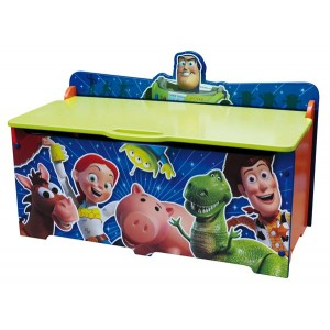 coffre jouets en bois disney toy story grand mod le. Black Bedroom Furniture Sets. Home Design Ideas