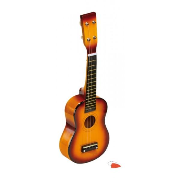 guitare pour enfant 50 cm instrument de musique la f e. Black Bedroom Furniture Sets. Home Design Ideas