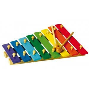 Xylophone couleur 8 notes