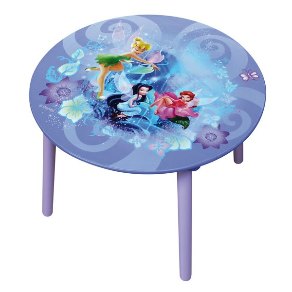 Table f e clochette disney fairies d coration de chambre for Set de table pour enfant