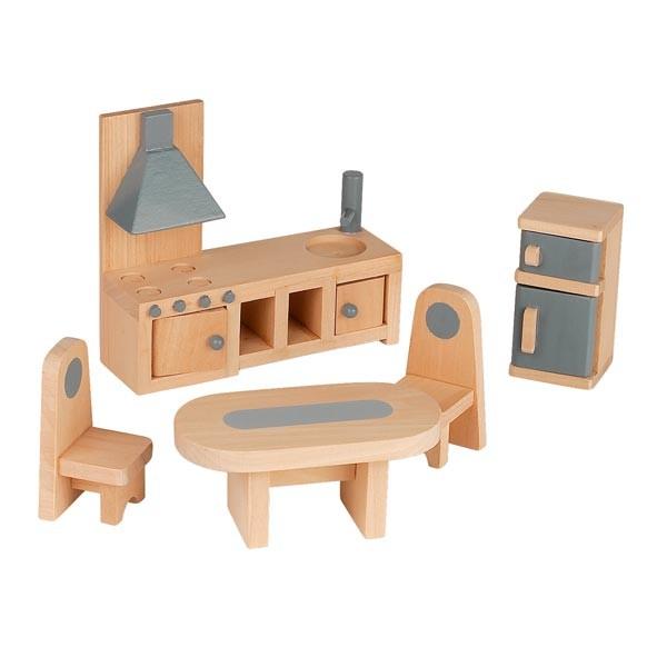 maison de poup es en bois mademoiselle par janod la f e du jouet. Black Bedroom Furniture Sets. Home Design Ideas