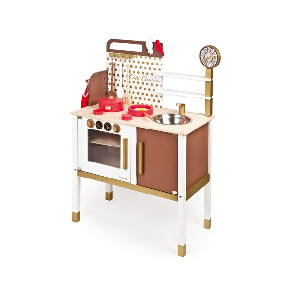 maxi cuisine chic janod la f e du jouet achat vente de jouets en bois. Black Bedroom Furniture Sets. Home Design Ideas