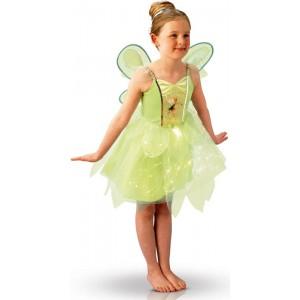 d guisement la f e clochette robe scintillante disney fairies la f e du jouet. Black Bedroom Furniture Sets. Home Design Ideas
