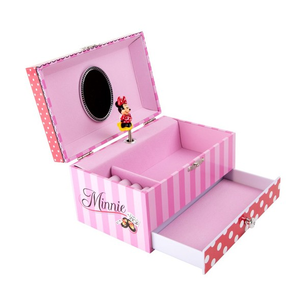 Boite musique minnie avec tiroir la f e du jouet achat vente de bo te - Les boites a musique ...