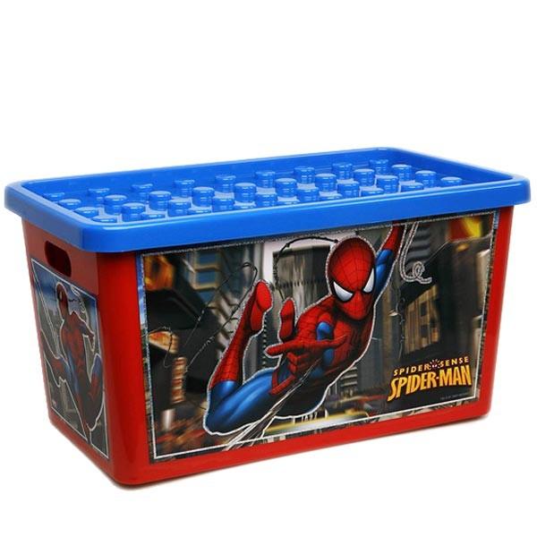 coffre de rangement spiderman 45l chambre denfant - Boite De Rangement Bebe Garcon
