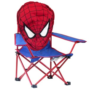 Chaise pliable tête Spiderman