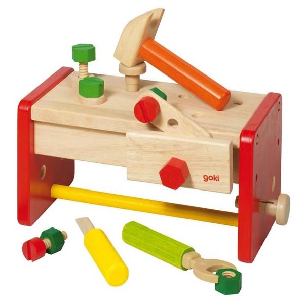 petit tabli en bois goki la f e du jouet. Black Bedroom Furniture Sets. Home Design Ideas