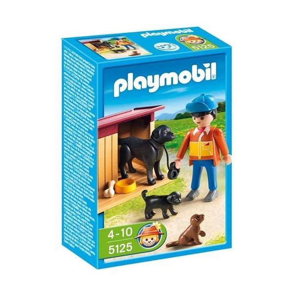 ... Chiens Et Fermier, Playmobil à La Ferme   5125 ...
