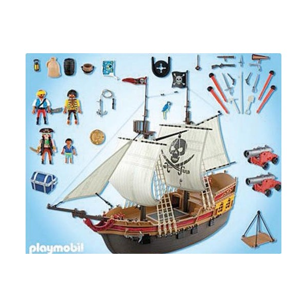 playmobil bateau pirate playmobil 5135 la f e du jouet. Black Bedroom Furniture Sets. Home Design Ideas