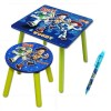Table carrée et tabouret Toy Story