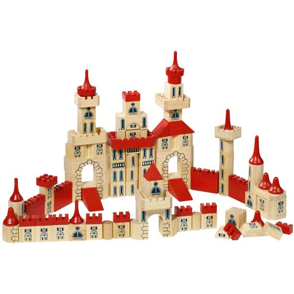 Jeu de construction château  jouet en bois  la fée du jouet ~ Construire Des Jouets En Bois Gratuit