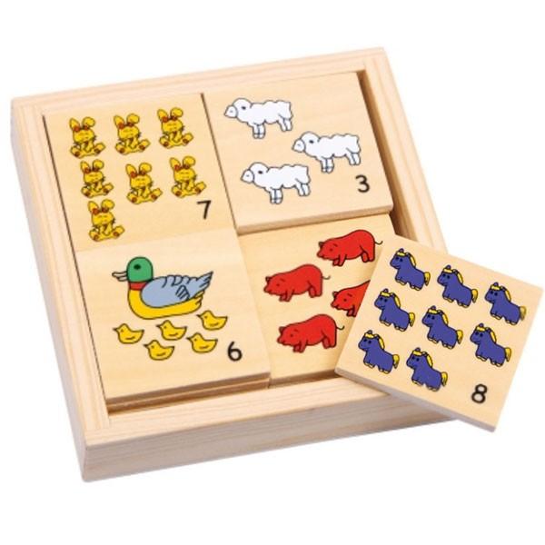 jeu de memo les animaux de la ferme la f e du jouet. Black Bedroom Furniture Sets. Home Design Ideas