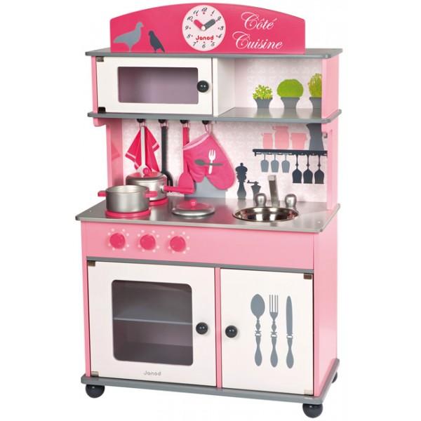 cuisine cot cuisine janod la f e du jouet. Black Bedroom Furniture Sets. Home Design Ideas