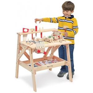etabli en bois pour enfant la f e du jouet achat vente de jouets en bois. Black Bedroom Furniture Sets. Home Design Ideas