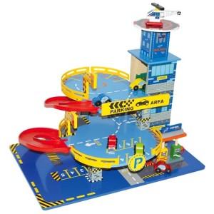 garage parking m tropole jouet en bois la f e du jouet. Black Bedroom Furniture Sets. Home Design Ideas
