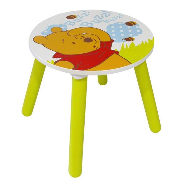 Tabouret winnie l 39 ourson collection abeilles disney fun - Rehausseur de chaise winnie l ourson ...