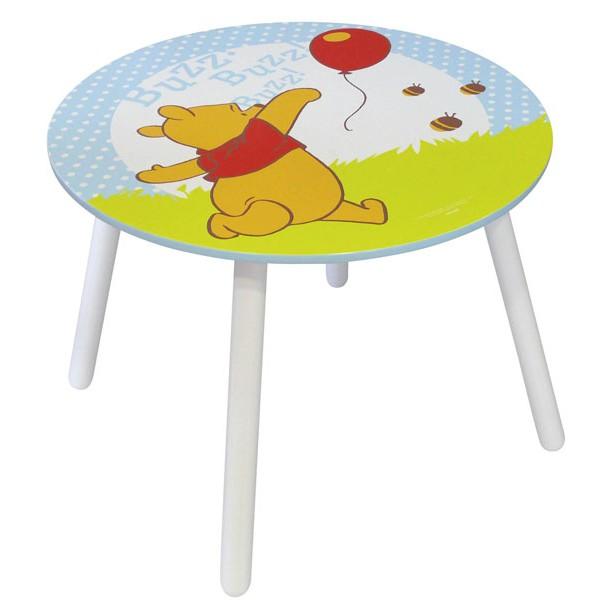 Table et tabouret winnie l 39 ourson mobilier disney la - Table winnie l ourson et chaise ...