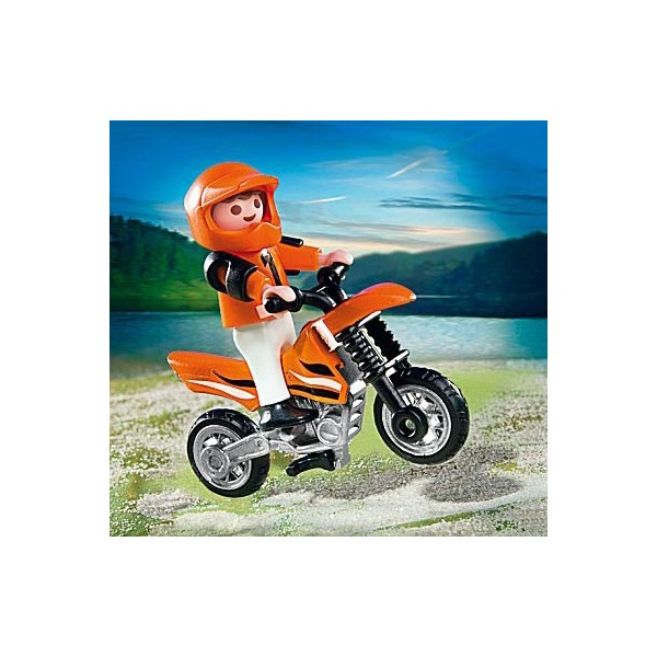 playmobil 4698 enfant et moto cross la f e du jouet. Black Bedroom Furniture Sets. Home Design Ideas