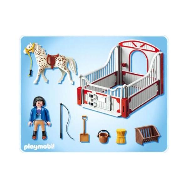 playmobil cheval et monitrice playmobil 5107 la f e du jouet. Black Bedroom Furniture Sets. Home Design Ideas
