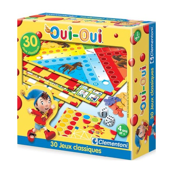 30 jeux classiques oui oui clementoni la f e du jouet - Melissa oui oui ...