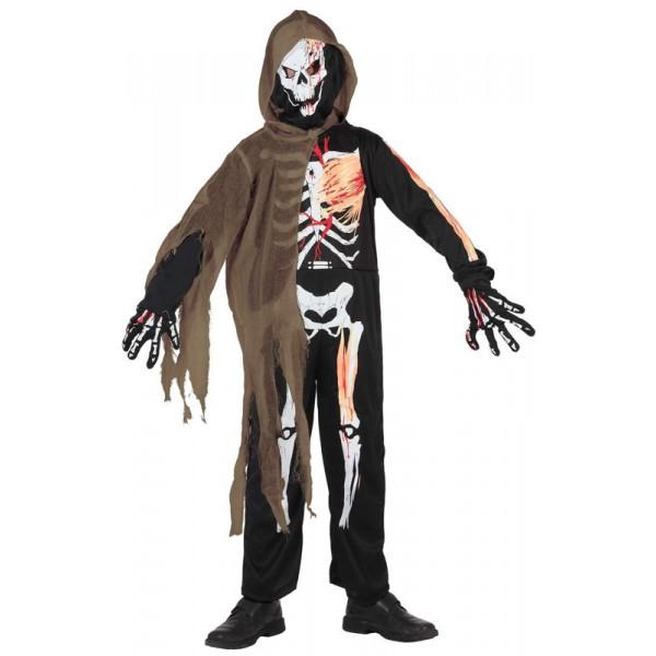 d guisement squelette enfant 3 9 ans la f e du jouet deguisement halloween enfant. Black Bedroom Furniture Sets. Home Design Ideas