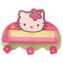 Etagere portemanteau Hello Kitty - mobilier en bois Fun House