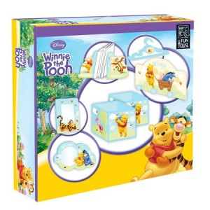 Coffret décoration chambre Disney Winnie l\'Ourson 10 éléments - Fun ...