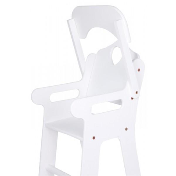 chaise haute pour poupée à tablette rabattable, la fée du jouet