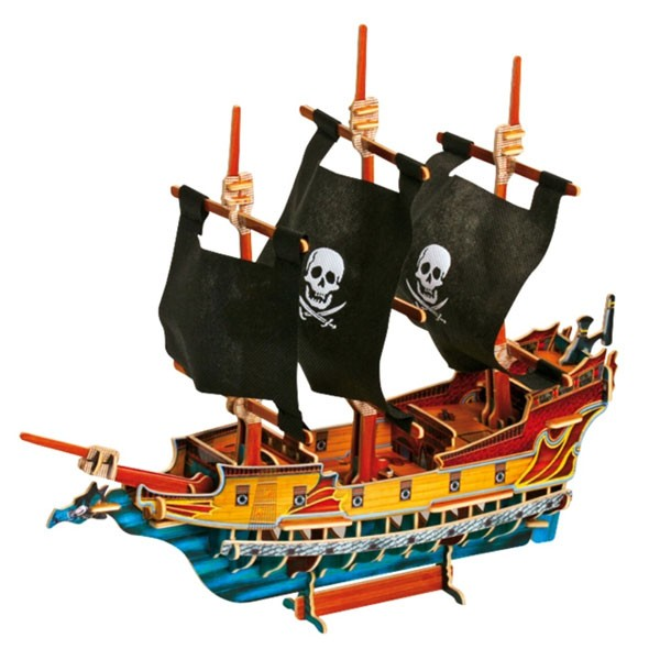 bateau pirate 3d la f e du jouet magasin de jouets et. Black Bedroom Furniture Sets. Home Design Ideas