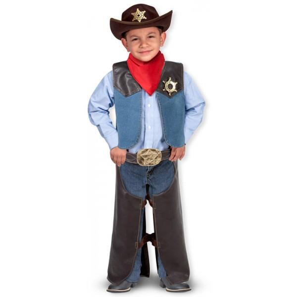 d guisement cowboy enfant avec accessoires la f e du jouet achat jouets et deguisements. Black Bedroom Furniture Sets. Home Design Ideas