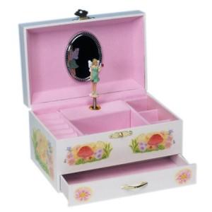 boite musique elfe avec tiroir la f e du jouet. Black Bedroom Furniture Sets. Home Design Ideas