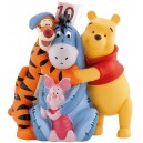 Tirelire Disney Winnie l'ourson et ses amis, Bourriquet, Tigrou et Porcinet - Figurines Disney