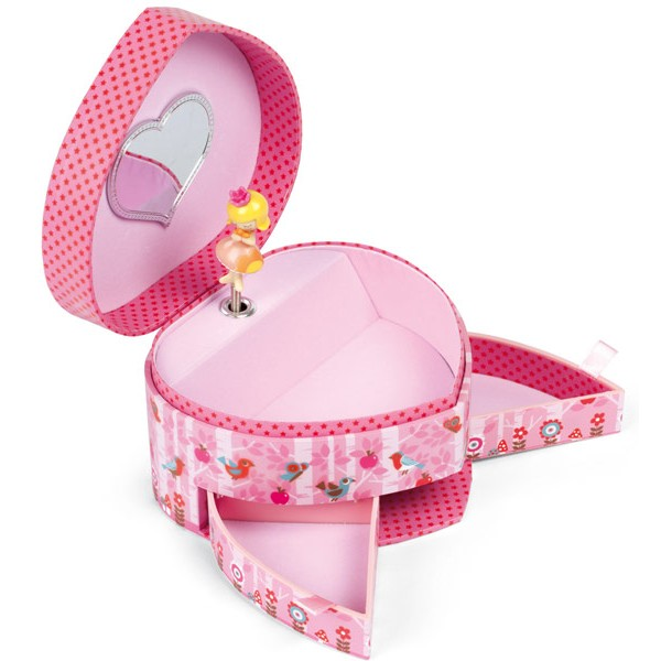 boite musique en coeur minuschka janod la f e du jouet achat boite bijoux musicale. Black Bedroom Furniture Sets. Home Design Ideas