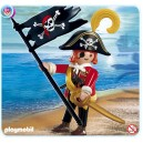 Pirate avec drapeau Playmobil - 4690