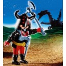 Le combattant du dragon rouge Playmobil - 4633