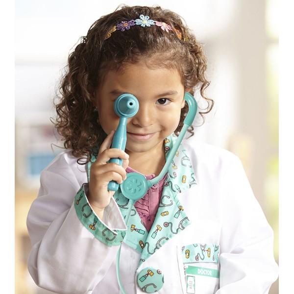 Kentan Jeu Dimitation Blouse Docteur Accessoire Docteur Enfants Jouet Deguisement Docteur Costume Fille Garcon 3 4 5 Ans approachable