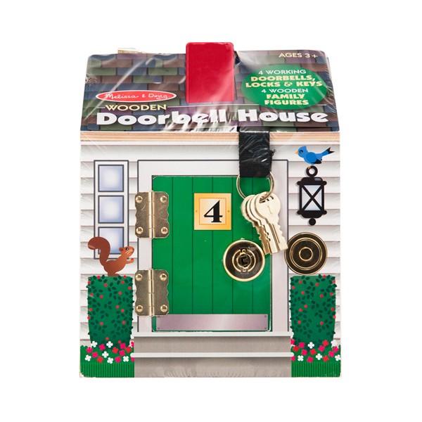 maison serrures avec sonnettes la f e du jouet vente. Black Bedroom Furniture Sets. Home Design Ideas