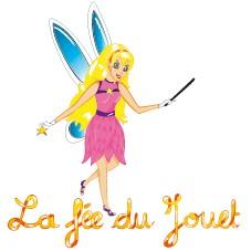 Logo, La fée du jouet.fr, magasin de jeux et jouets