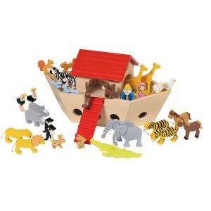 Animaux en bois jouet
